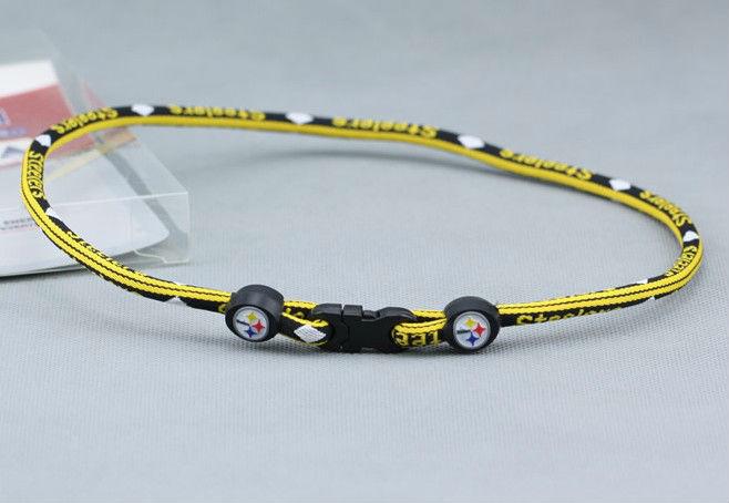 titanium rope negative ion sport activities necklace