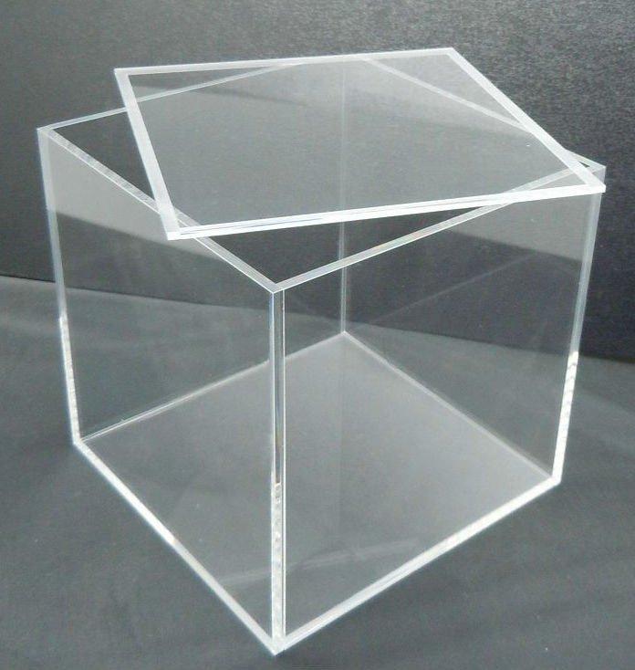 Acrylic Boxes Australia : Clear acrylic box with lid buy plexiglass display