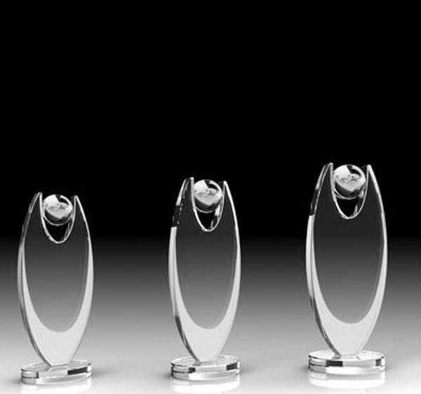 2014 Sports crystal award