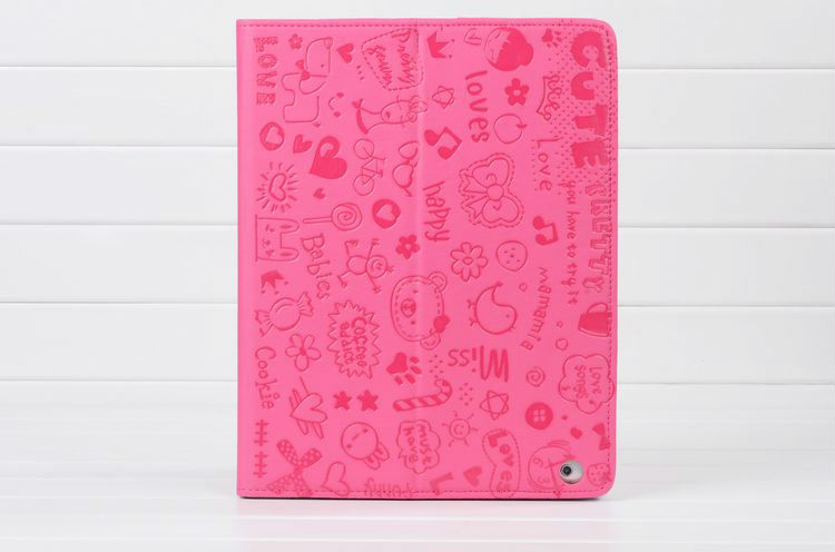 cartoon case for ipad 2,leather case for ipad,leather case for ipad 4