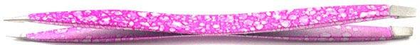 Stainless steel manicure color ful Tweezer ~ eyebrow