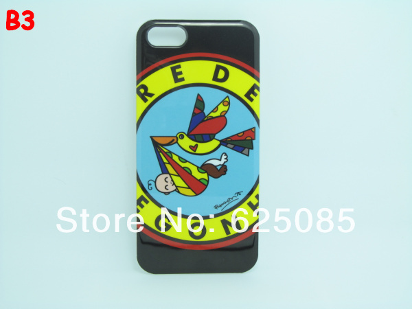 [IP5-17] B-Illustration girl Frog Love Fish Bird Cartoon Abstract  Design Plastic Hard Case for Iphone5 Iphone 5 5G (3).jpg