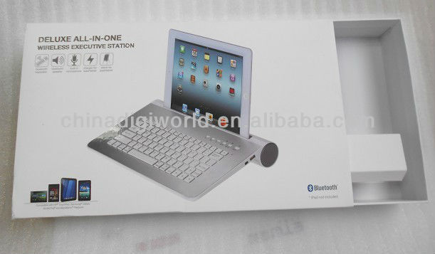 all in one bluetooth keyboard for tablet with speaker