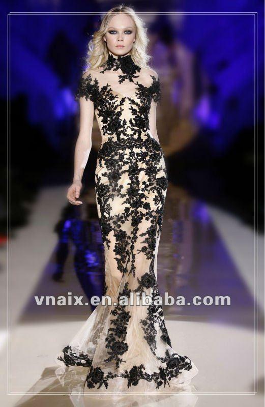 Zuhair Murad see through gowns