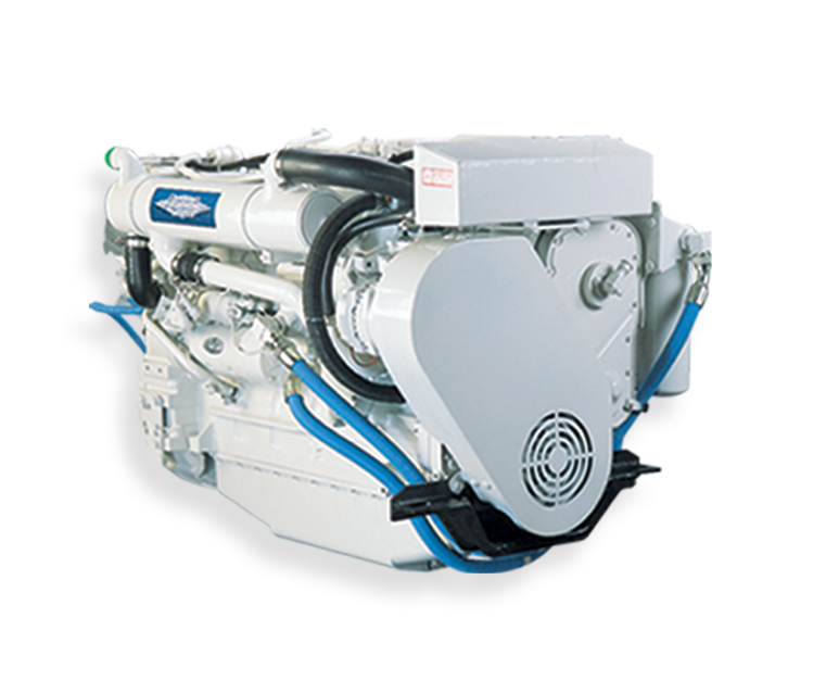 marine genset 6CTA8.3-D(M) cummins engine 50Hz 154kw