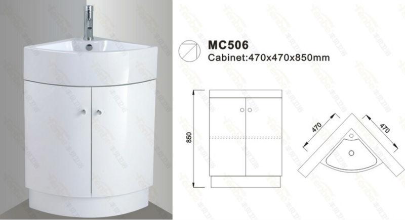 Uk coin salle de bains vanit meuble lavabo de salle de - Meuble en coin salle de bain ...