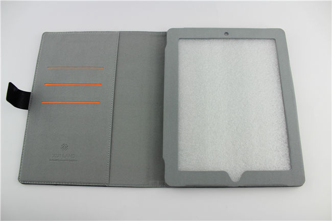 stand leather case for ipad 2 can make to fit for any other model fashion for ipad case