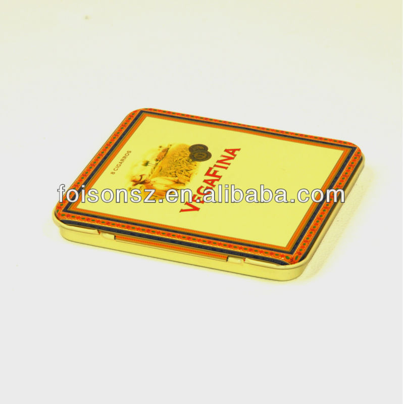fashionable tobacco tin cases