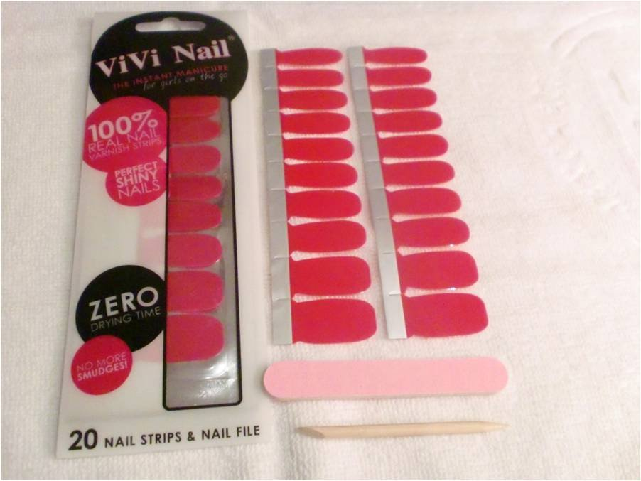 self-adhesive nail polish sticker