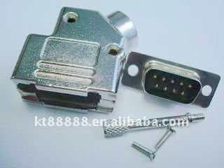 D sub37 pin connector metal hood(long screws)