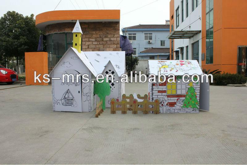 Cardboard Train Train Cardboard Playhouse For