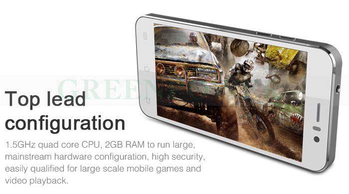 "New arriving!! New Smartphone Jiayu G5 MTK6589T 1.5GHz Quad Core 4.5"" HD Screen 13Mp Camera Android phone 4.2 Bulit-in 3G"