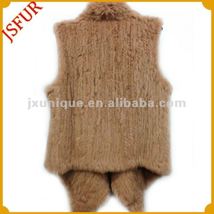 Модные меховой безрукавки