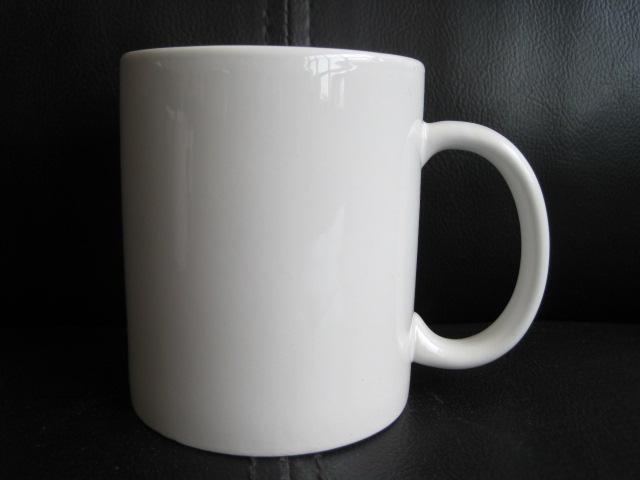 White Ceramic Coffee Mugs Cheap Plain White Coffee Mug