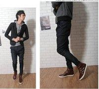 Новые функции! Мужские брюки slim fit хлопок модельные повседневные брюки стильные спортивные брюки ck030