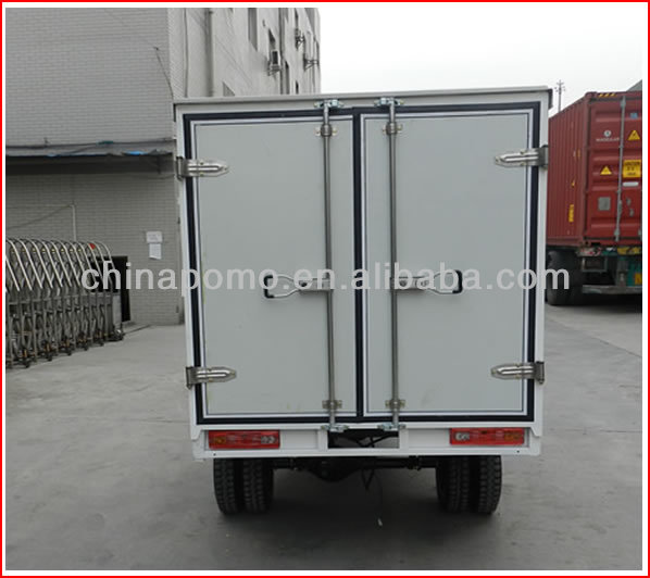 2013 Hot Sale Cheap Water Cool Closed Cargo Box 250cc China Three Wheel Coverd Motorcycle for Sale