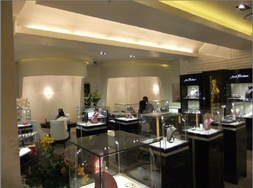 Gemstone Shop Design And Gemstone Retail Shop Interior Design With ...