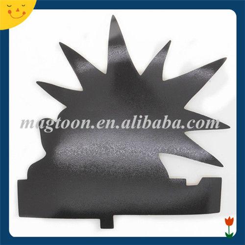 Custom design animal shape paper fridge magnet