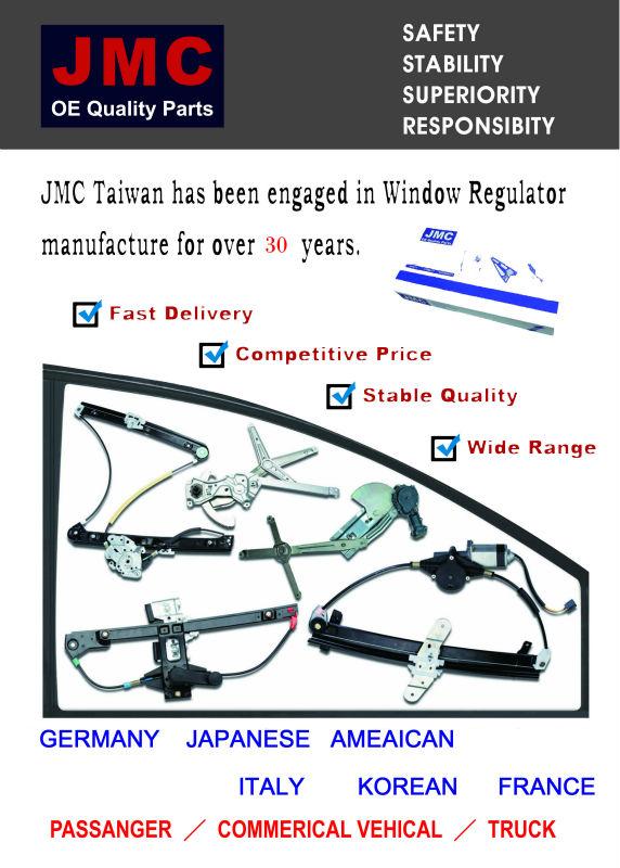 JMFD-WR039M for FORD ECONOLINE E VAN 92-09 Window Regulator Motor 1C2Z-1523201AA