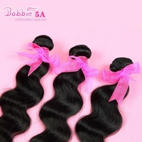 "6A Unprocessed virgin hair Peruvian Hair Body Wave Mix lot 10""12""14""16""18""20""22""24""26""28""30"" Natural color MOChaPBW32"