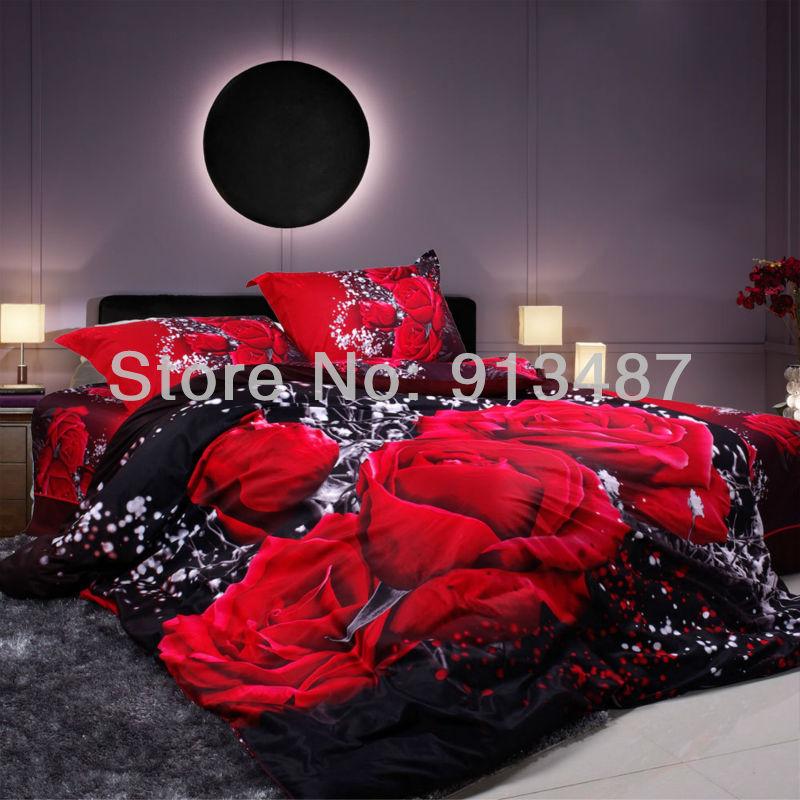 christmas gifts bedding set black white deer head bed linen