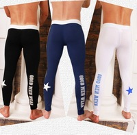 men's ultrathin sexy long pantsr/warm pants/long underwear/tight long wear/three colors/blue