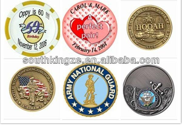 the wing symbol souvenir custom copper coin