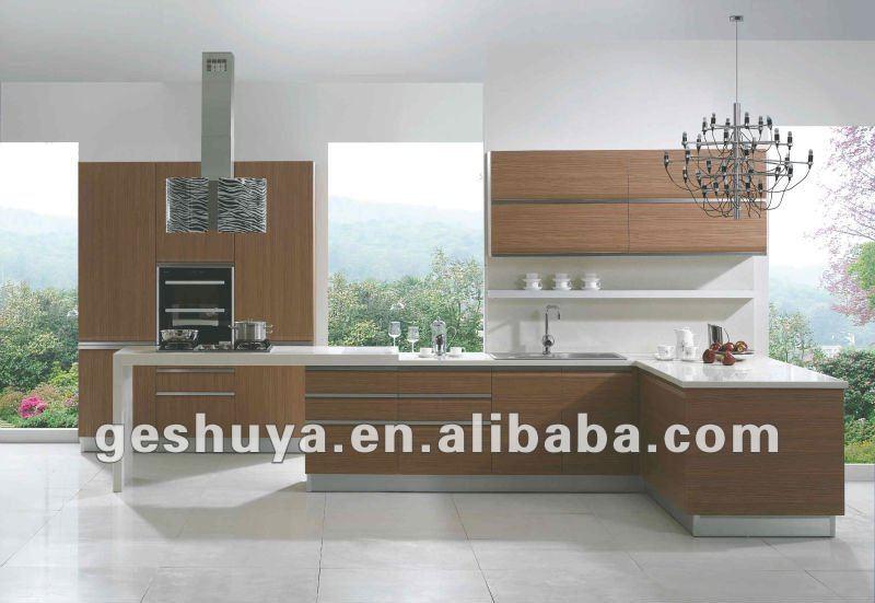 Lb jx1097 accueil personnalis e meubles en bois armoires for Voir des modeles de cuisine