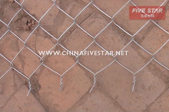 High quality safety chain link fence(ISO9001:2008 manufacturer)