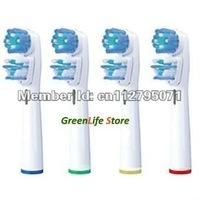 Насадка для зубных щеток OEM 8 1000 2000 3000 9000 1 = 4 Dual Clean