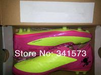 Мужские ботинки 2013 Popularoutdoor Soccer Shoes, Football Cleats boots Good Quality 6 Colors Mix Order size:39-45