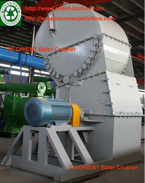 TN-ORIENT 2015 High Quality Integrated Sawdust Wood Crusher (Skype: woodpelletmill002)