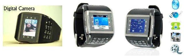 Q8 watch phone quadband single sim card touch screen keypad pinhole webcam gift 1G TF