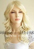 jewelry_wig$ новой довольно прекрасный коричневый микс женской полный парик / + подарок