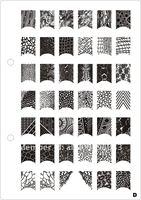 Шаблоны для дизайна ногтей 11pcs/lot big Stamp Image Plate konad stamping nail art+Stamping Template, Nail Stencils, Nail Art Templates A-K