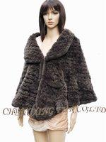 CX-B-108 Knit Rex Rabbit Fur Shwl Latest Products in Market ~ Drop Shipping