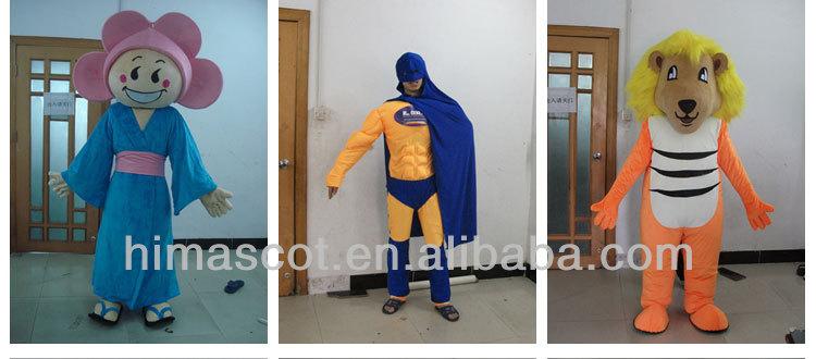 HI CE 2015 novos produtos gigante urso de pelúcia barato traje da mascote para adulto