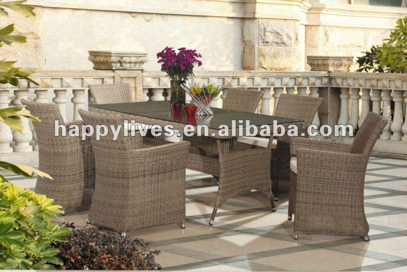 SGS Test Outdoor rattan furniture Leisure sofa(233),garden wicker sofa