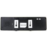 Автомобильный видеорегистратор 4.3 Inch touch screen Car GPS Navigation with Bluetooth Rearview Mirror 4GB Card late Maps HAX1606