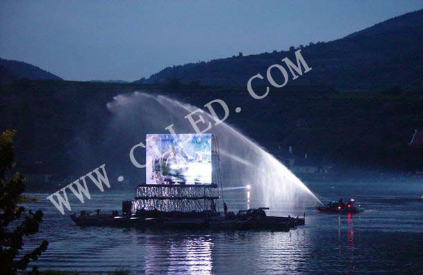 advertising screen Outdoor fullcolor LED display (P10)
