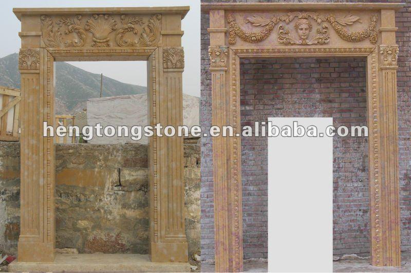 Marble Door Arch Frame Pattern Carving Buy Marble Door