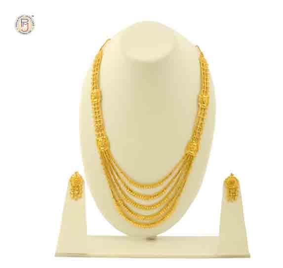 Gold Filled 2-line Chandan Har - Buy Long Necklace,Wedding Necklace ...