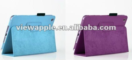 foldable Folio PU Leather Smart Cover Stand Case For iPad Mini