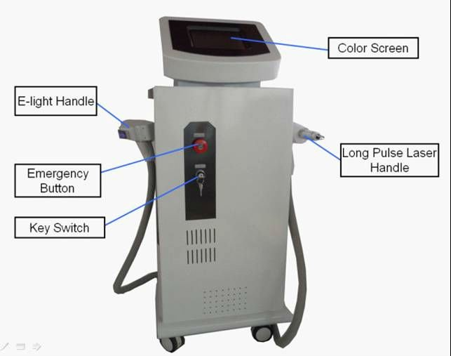 ipl and laser beauty equipment laser hair removal/hair loss laser equipment