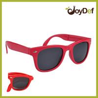 2014 Fashion Sunglasses Woman Own Designed Foldable Sun glasses