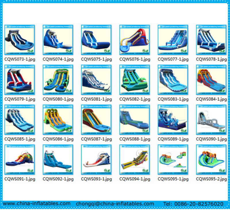 2013 durable inflatable water slide, infaltable water slide