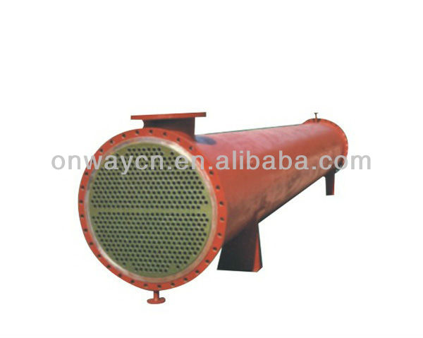 SHR High efficient shell and tube heat exchanger