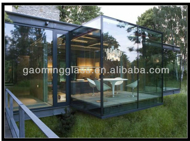 Outdoor aluminum sunlight glass room DS-LP423