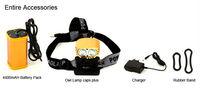 Светодиодный фонарик CREE T6 light night owl double riding mountain bikes front headlight