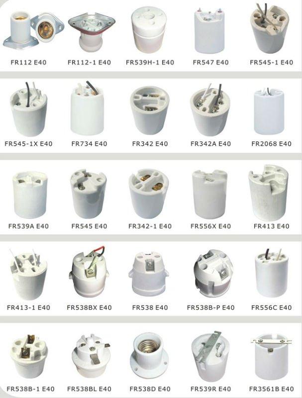 bas prix pour lectrique porcelaine douille de lampe e40. Black Bedroom Furniture Sets. Home Design Ideas